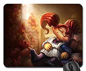 League of Legends - Poppy Mouse Pad, Mousepad (10.2 x 8.3 x 0.12 inches)
