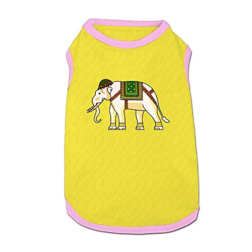 Agilitynoun Dog T-Shirt Clothes India Treasure Elephant Doggy Puppy Tank Top Pet Cat Coats Outfit Jumpsuit Hoodie