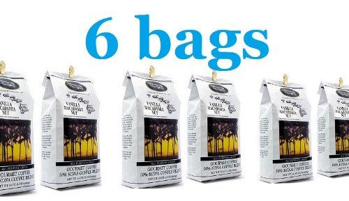 Vanilla Macadamia Nut Coffee 9 pound (six 24 oz bags)
