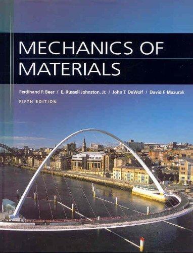 Mechanics of Materials by Ferdinand Beer (2008-05-08) PDF