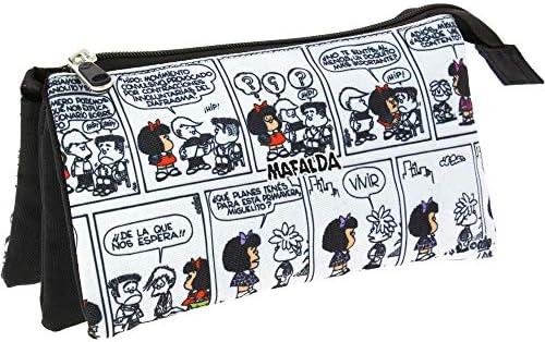 Grafoplas Estuche Triple Mafalda Comic: Amazon.es: Juguetes y juegos