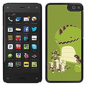 LECELL--Funda protectora / Cubierta / Piel For Amazon Fire Phone -- Dinosaurio lindo Juego --