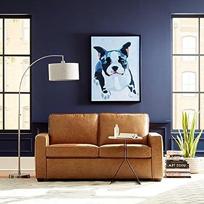 Rivet Andrews Modern Classic Top-Grain Leather Sofa