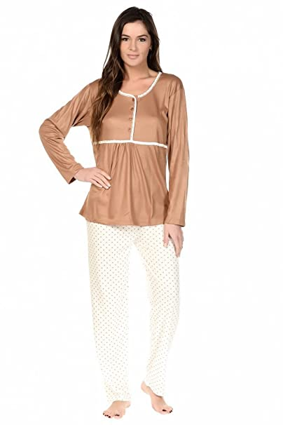 Hi Style Charnelle - Pijama - para mujer beige beige