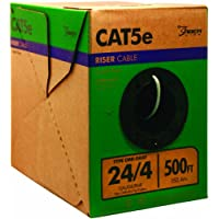 Southwire 500-Feet 24/4 Solid CU CAT5e Riser Cable