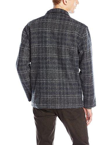 Pendleton Men's Timberline Jacket, Charcoal Plaid, LG by Pendleton (Image #2)