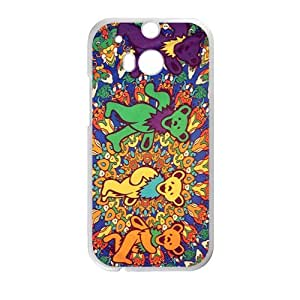 Happy grateful dead bears Phone Case for HTC One M8