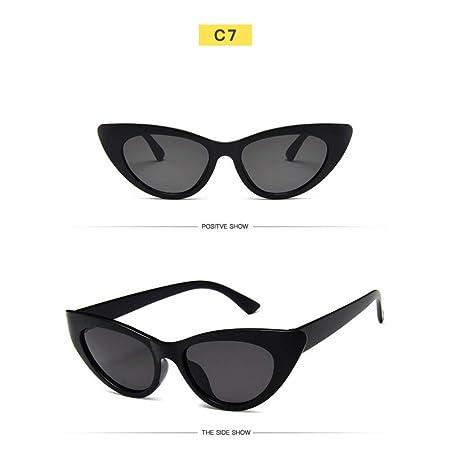 Amazon.com : YLNJYJ Triángulo Clásico Ojo De Gato Gafas De ...