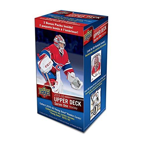 2016 Upper Deck Baseball - 2015 2016 Upper Deck NHL Hockey Series One Factory Sealed Unopened Blaster Box of 12 Packs