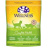 Wellness Complete Health Natural Dry Cat Food, Kitten Health Recipe, 5.9-Pound Bag