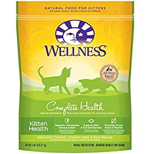 Amazon Com Wellness Complete Health Natural Dry Cat Food