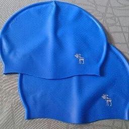 The Friendly Swede Pack de 2 Gorros de Natación de Silicona - GARANTÍA DE POR VIDA (Negro): Amazon.es: Deportes y aire libre