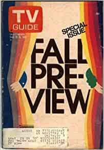 TV GUIDE SEPTEMBER 1981 FALL PREVIEW (VG/FN) FALL GUY GIMME A BREAK, FALCONCREST