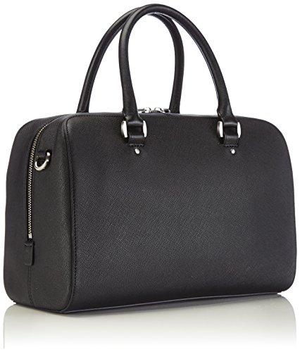 Ecco ECCO Firenze City Bag - Bolso de hombro, unisex Schwarz (BLACK 90000)