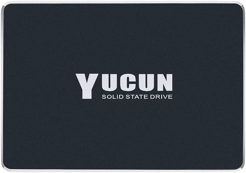 YUCUN 2.5 Pulgadas SATA III Disco Duro sólido Interno de Estado sólido 128GB SSD