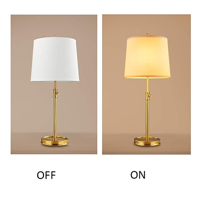 Lámparas de escritorio Lámparas de mesa y mesilla Cobre Lámpara de ...