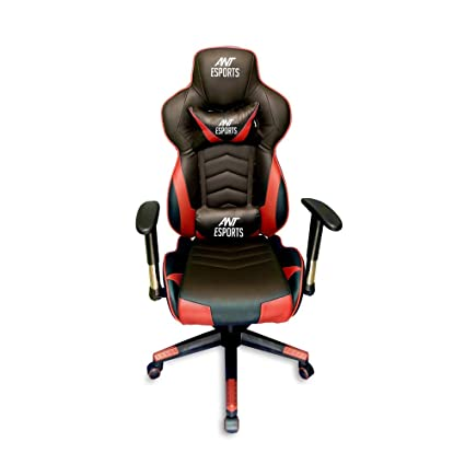Tremendous Ant E Sports Gamex Infinity Ergonomic Gaming Chair With Pu Leather And 165 Degree Tilt Backrest 2D Adjustable Armrest Headrest And Lumbar Support Caraccident5 Cool Chair Designs And Ideas Caraccident5Info