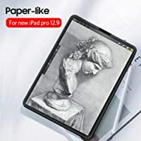 Elikliv Paper-Like Anti Glare Matte PET Screen Protector Cover 12.9inch for iPad pro 2018