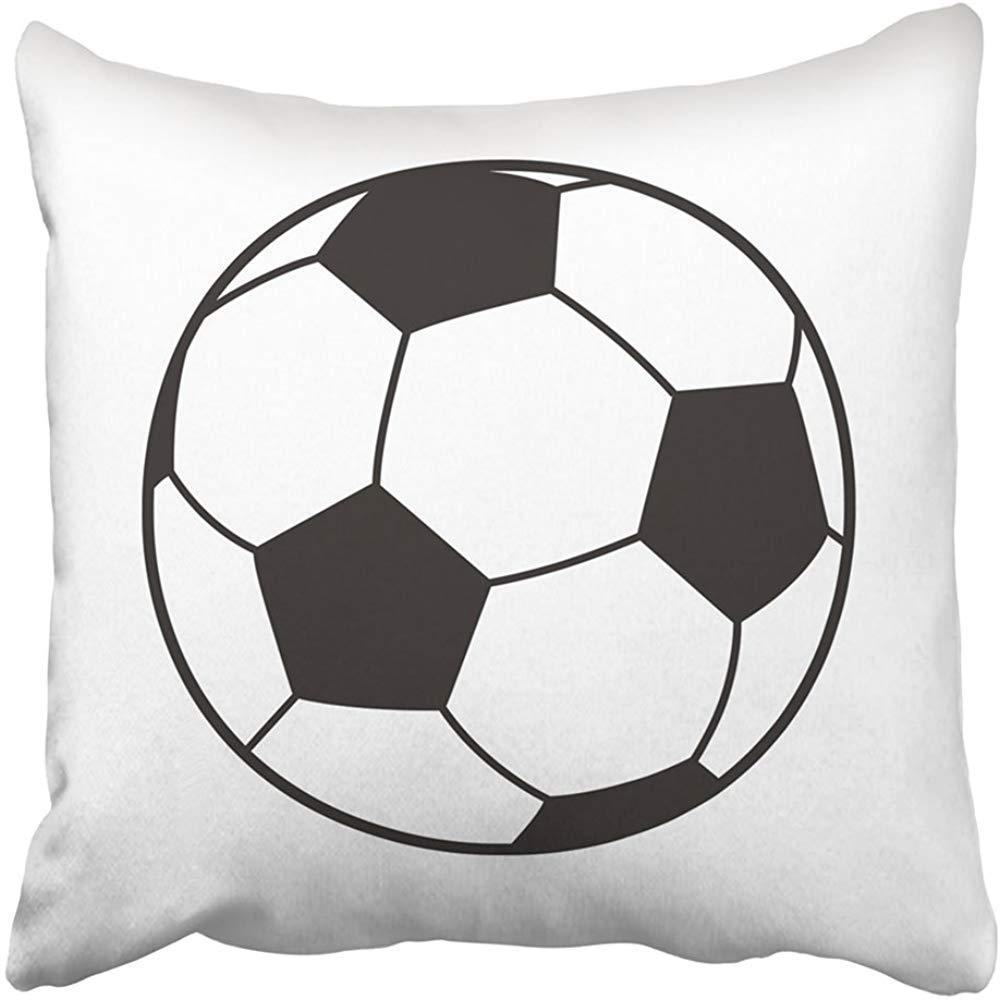 Xinli Shop Funda de Almohada de Tiro Poliesteres Balón de fútbol ...