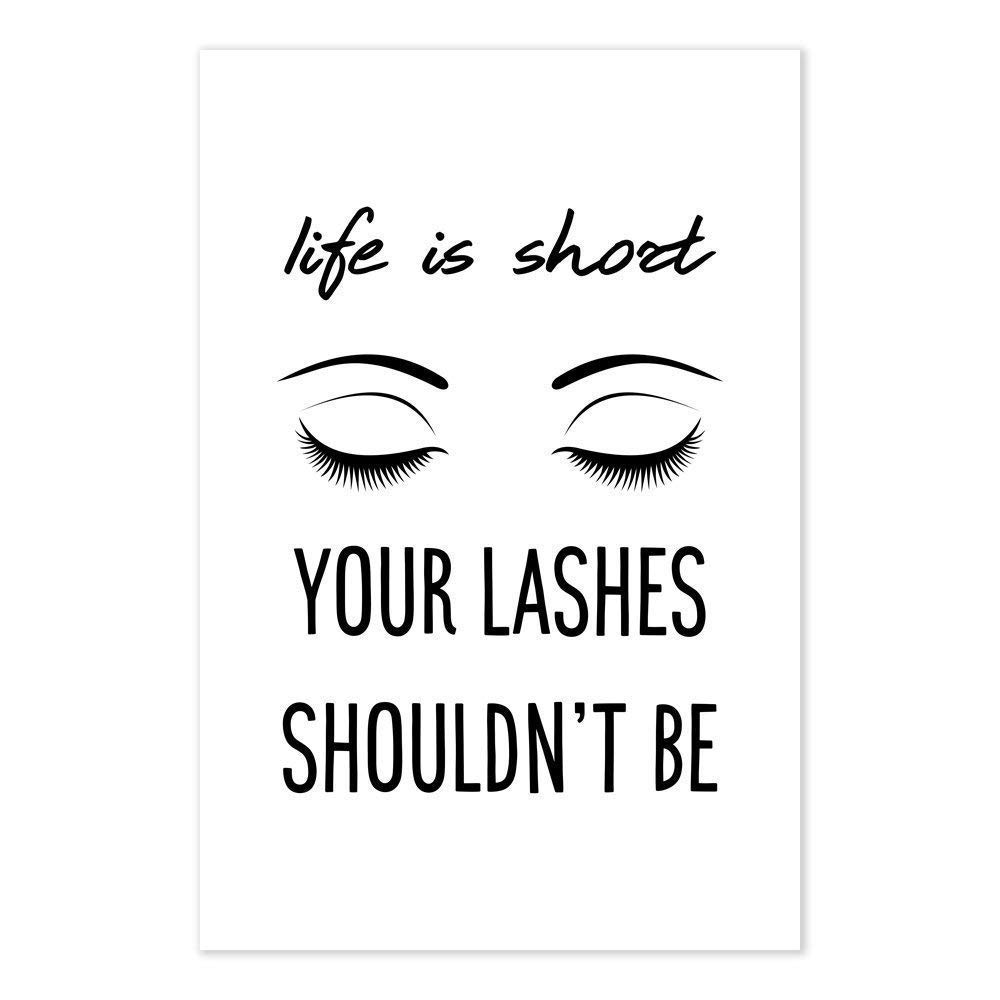 Amazon.com Life Is Short Your Lashes Shouldn\u0027t Be , Funny