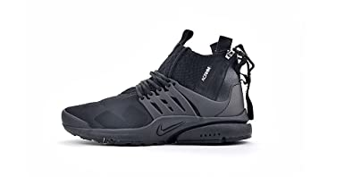 Nike Mens Acronym x Air Presto (7, Black): Buy Online at Low ...