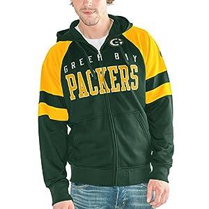 Green Bay Packers Large Dunbrooke NFL Craftsman Full Zip Thermal Hoodie