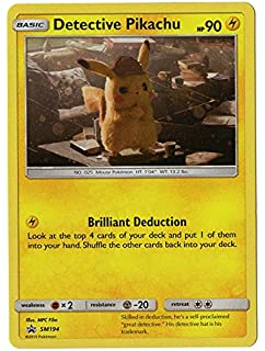 Pokemon Cinema Exclusive Promo NEW Detective Pikachu SM190 RARE HOLO