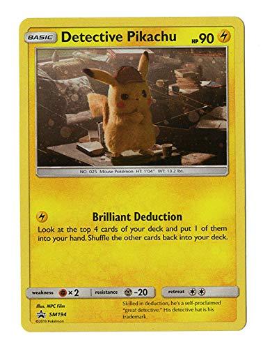 Detective Pikachu Promo Card - SM194 - Holo FOIL