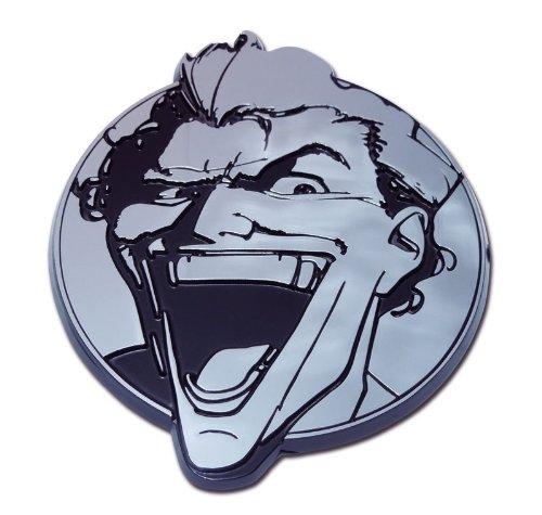 The Joker Chrome Auto Emblem