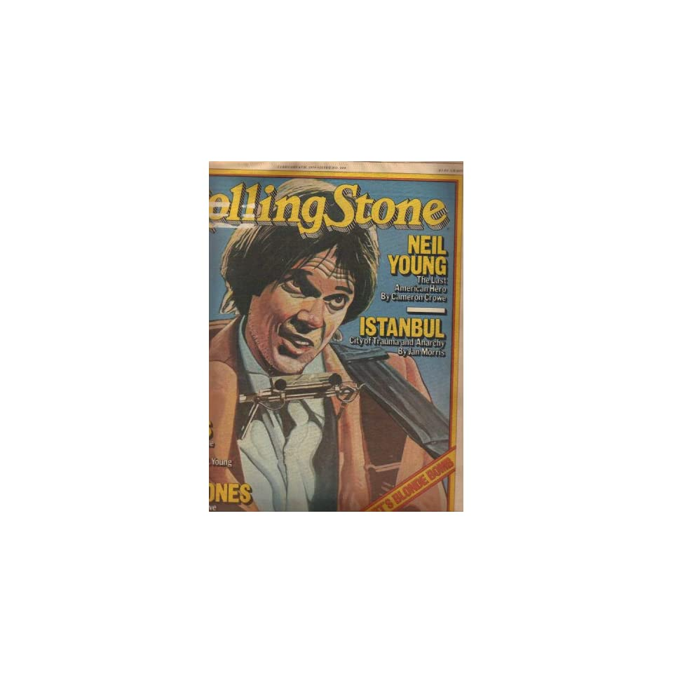 Rolling Stone Magazine February 8, 1979 Issue #284 Neil Young cover