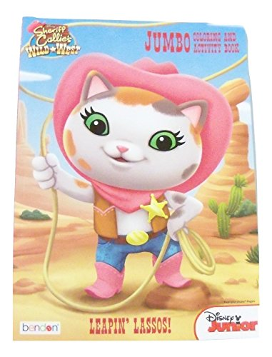 Disney Sheriff Callie's Wild West Jumbo Coloring and