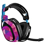 MightySkins Skin Compatible with Astro A50 Gaming Headset - Pink Kaleidoscope | Protective, Durable, and Unique Vinyl Decal wrap Cover | Easy to Apply, Remove, and Change Styles | Made in The USA