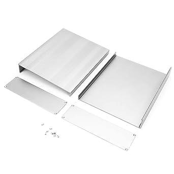 Caso de proyecto electrónico, chorro de arena Instrumento de placa de circuito impreso Caja de aluminio Caja de proyecto electrónico: Amazon.es: Industria, empresas y ciencia