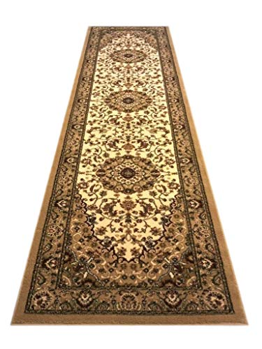 Traditional Area Rug Runner 32 In. X 10