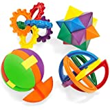 Fun Express Plastic Balls Puzzle (1 Dozen)