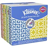 Kleenex Go Pack Everyday Facial Tissues, 8 ct, (Pack of 24)