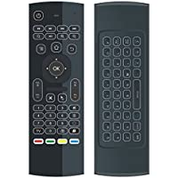 Pengaz MX3 Pro+ 2.4G Backlit Kodi Wireless Remote Air Mouse for Rasberry Pi XBMC KODI Android Google Smart TV