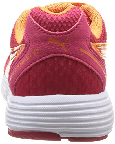 Puma Descendant v2 Wn's - Zapatillas para mujer rosa - Pink (virtual pink-white-fluo flash orange 16)