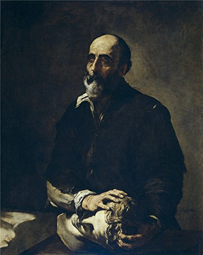 Oil Painting 'Ribera Jose De The Blind Sculptor Or Allegory Of Touch 1632' 24 x 30 inch / 61 x 77 cm , on High Definition HD canvas prints is for Gifts And Bar, Gym And Home Office decor, (Big Pony Lambswool)