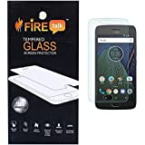 Firetalk Moto G5 Plus 0.3 mm Flexible Series Tempered Glass Screen Protector.