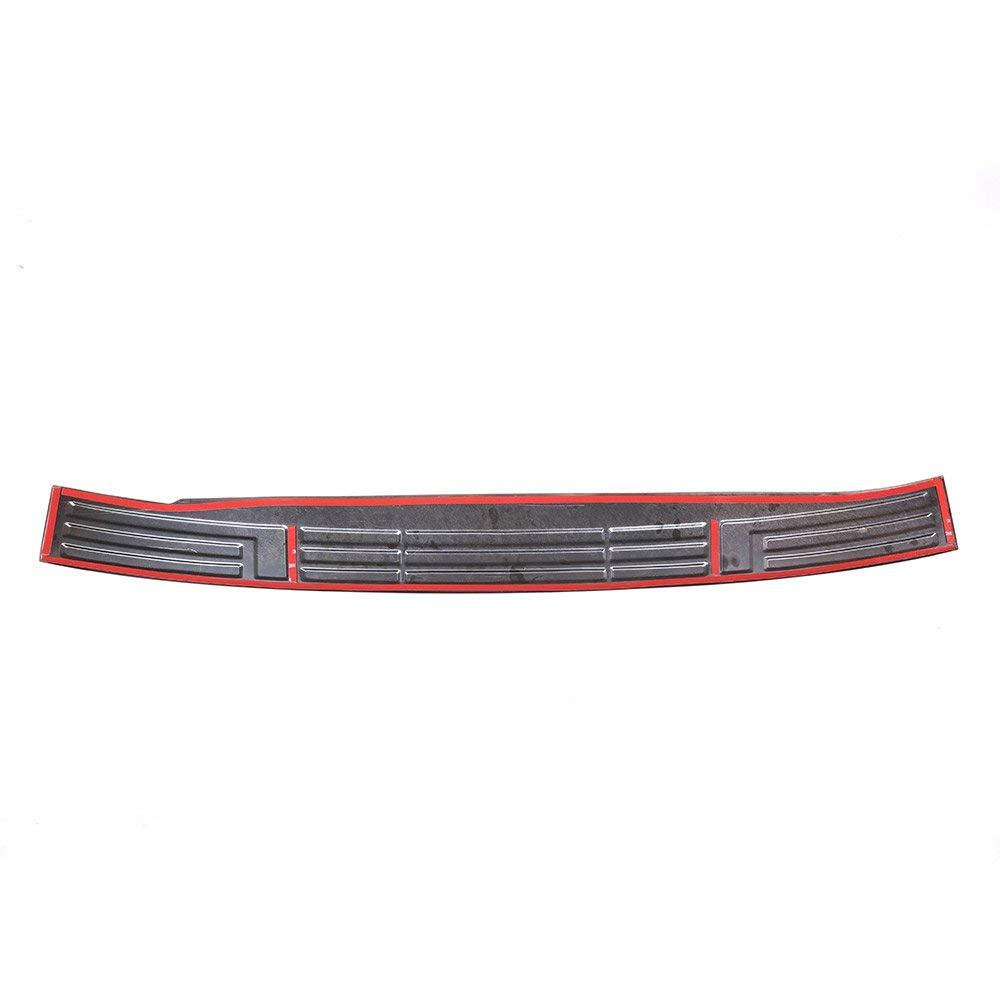 304 Acero inoxidable Protector de parachoques trasero Protector de la puerta trasera Tronco Guardia Sill Plate Scuff Cubierta plateada para Land Cruiser Prado FJ150 150 2010-2018