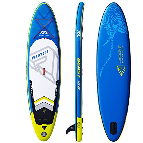 Bds Surfboard 3208115cm Aqua Marina Beast Inflatable Sup Stand Up Paddle Board Surf Kayak Inflatable Boat Leg Leash