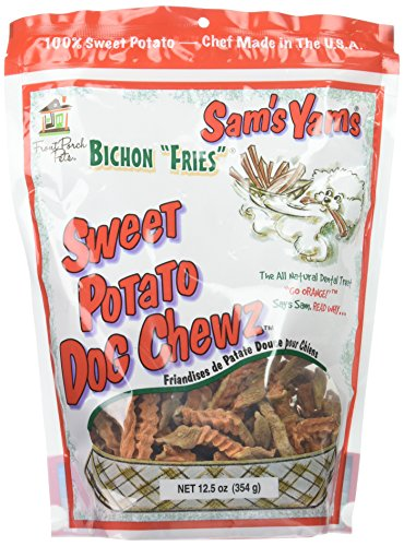 Sam's Yams Bichon Fries Sweet Potato Dog Chewz (12.5 oz)