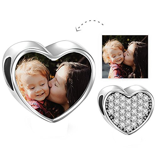 heart charms personalized - 8