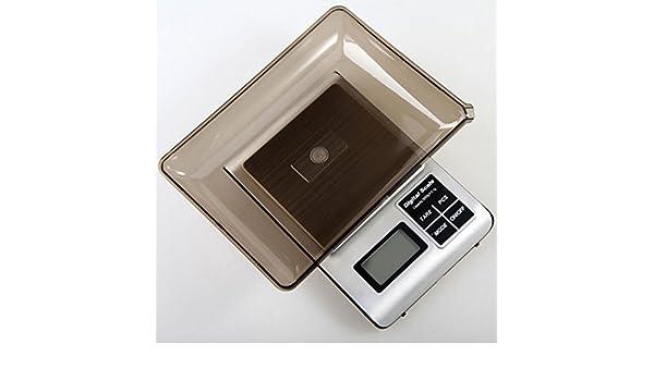 lerda pe Digital Kitchen Scale 3kg Mini balanzas electrónicas con Pantalla LCD, baterías Funcionan, Astilla: Amazon.es