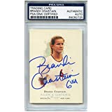 Brandi Chastain Autographed Signed Soccer Trading Card Team USA PSA/DNA #