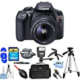 Canon EOS Rebel T6 with 18-55mm DC III Kit [International Version] (Pro Bundle)