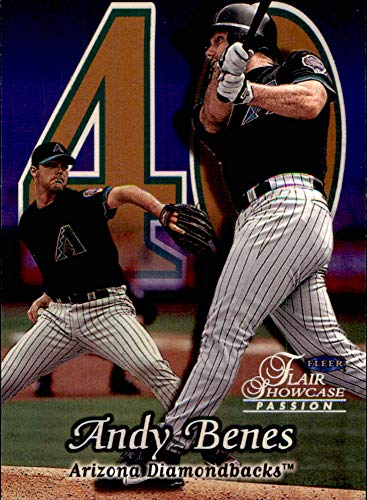 - 1999 Flair Showcase Row 2#143 Andy Benes ARIZONA DIAMONDBACKS