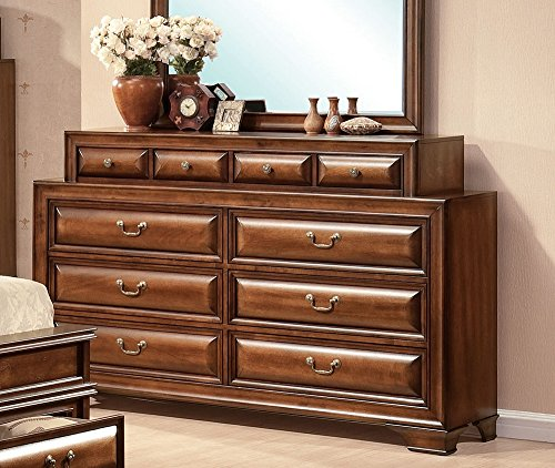 ACME 20458 Konane Dresser, Brown Cherry Finish