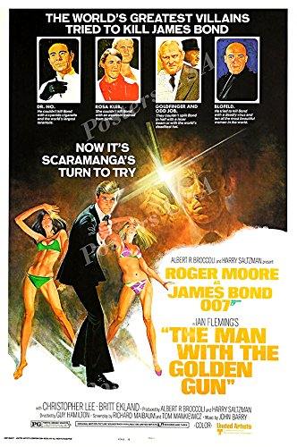 Posters USA - 007 The Man with The Golden Gun James Bond Mov